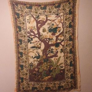 Tree of Life Tapestry Hippie